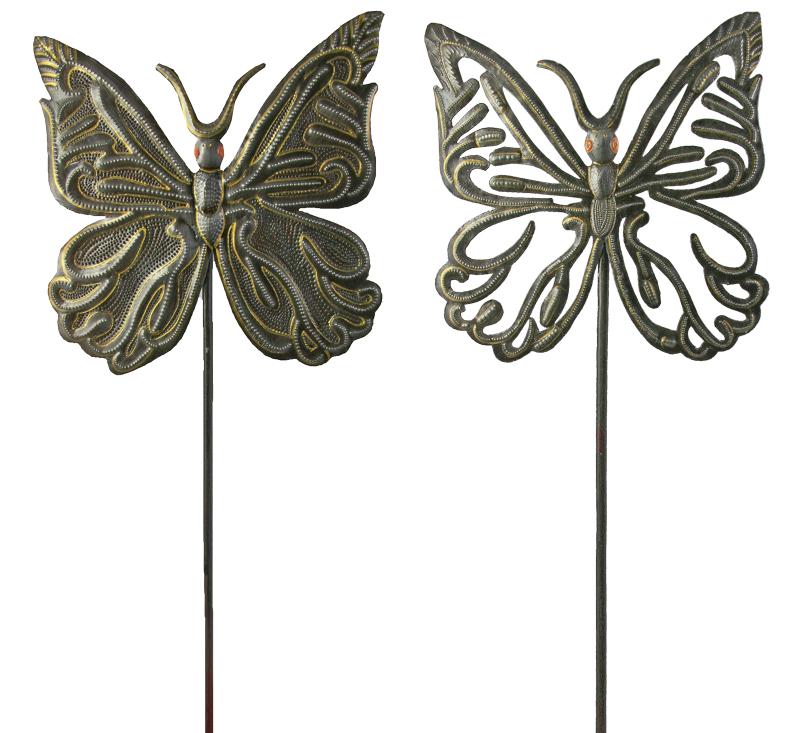 Butterfly Garden Stakes U2013 Set Of 2