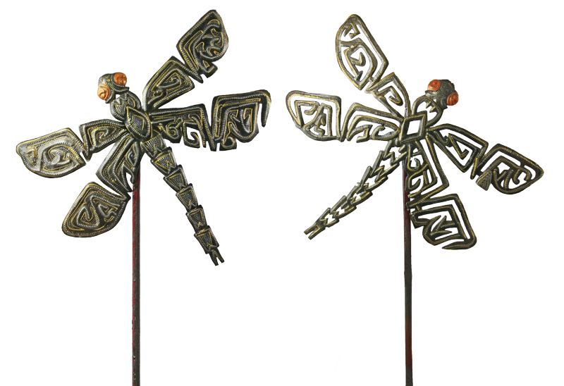 Dragonfly Garden Stakes U2013 Set Of 2